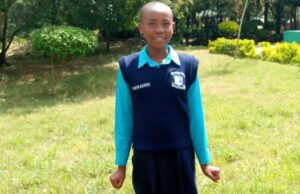 KCPE 2020 bvest candidate Faith Mumo from Kari Mwailu Primary School.
