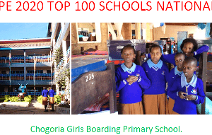 KCPE 2020 top performing schools nationally.