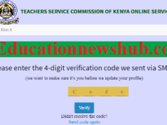 How to change your details in TSC online portal