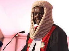 Former Chief Justice David Maraga (2016 to 2021)
